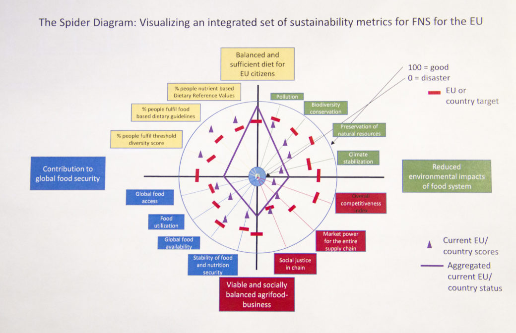 Monika zurek susfans spider diagram plenary project meeting a core output of the susfans project on the conceptual framework can be a spider diagram web tool visualizing an integrated set of sustainability metrics ccuart